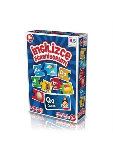 KS Puzzle KS Puzzle EG 258 Okul Öncesi İngilizce Öğreniyorum 52 ParÇa Renkli